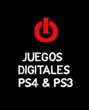 Juegos Digitales Playstation Ps3 Y Ps4