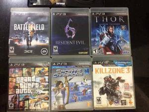 Juegos Para Playstation 3 Ps3 En Fisico Excelente Estado