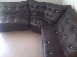 Muebles Modulares En Semicuero Nuevos A Estrenar