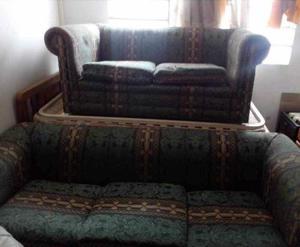 Muebles Sofá De Tela De 3 Y 2 Puestos