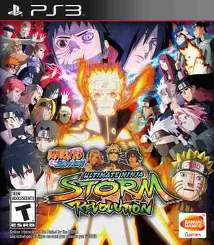 Naruto Storm Revolution Dig Original Ps3 Instalación Por