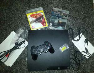 Playstation 3 De 320gb Como Nuevo Poco Uso 2 Juegos 1 Contro