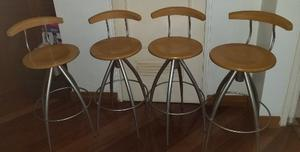 Silla De Bar (65 Cmts De Altura)