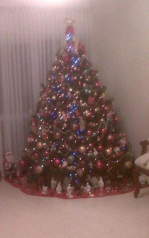 Adornos Y Luces Para El Arbol De Navidad