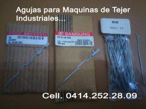 Agujas para Maquinas de Tejer Industriales... en Caracas...