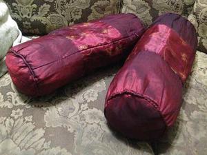 Cojines Decorativos De Navidad Tipo Salchicha De Raphia