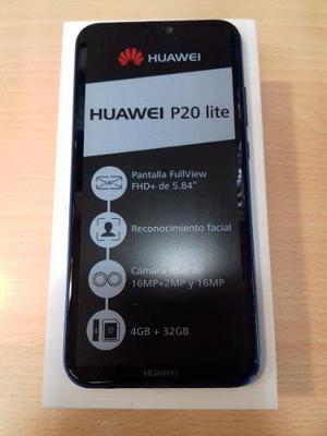 Huawei P20 Lite. Nuevo, Liberado Con Garantía. Somos