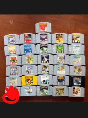 Juegos Nintendo 64 Originales