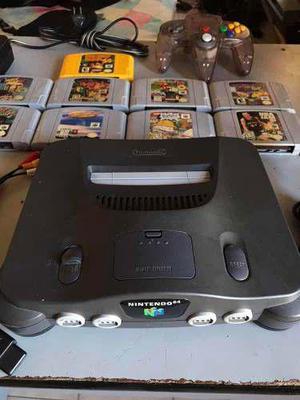 Nintendo 64 Combo Con Juegos Y Accesorios