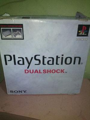 Play Station 1 Optimas Condiciones En Su Caja Original.