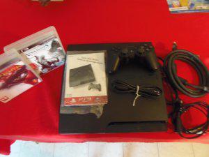 PlayStation 3 160Gb, Cable HDMI, 2 Juegos, 1 Control