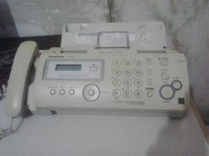 Teléfono Fax Panasonic Kx-fp205 Papel Normal Con Copiadora