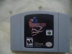 Vendo O Cambio Resident Evil 2 Nintendo 64 Impecable