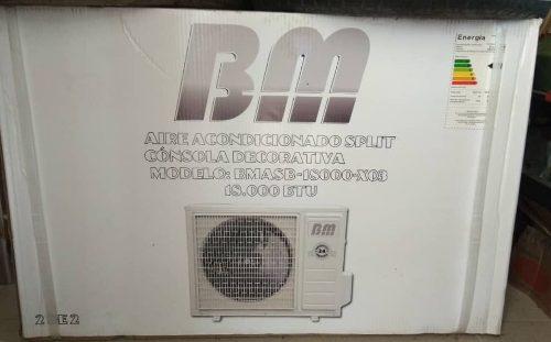 Aire Acondicionado Bm Split De  Btu