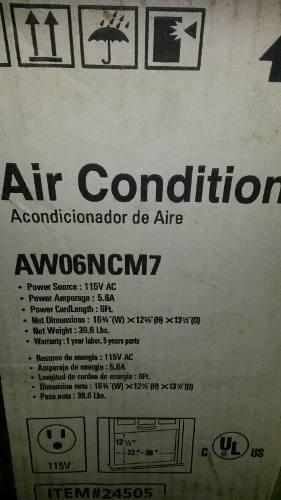 Aire Acondicionado Samsung De Ventana  Btu 115v
