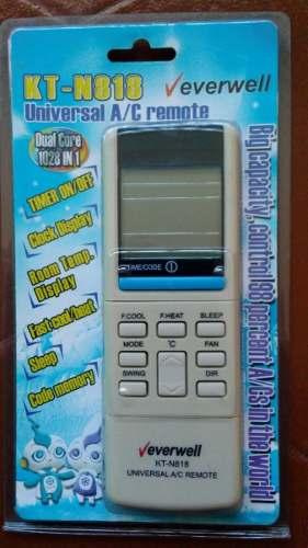 Control Remoto Universal Para Aire Acondicionado  Cod.