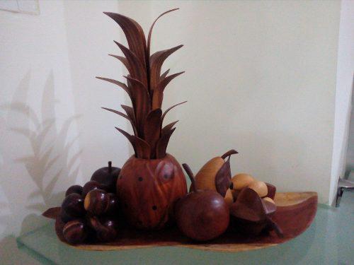 Frutas En Madera