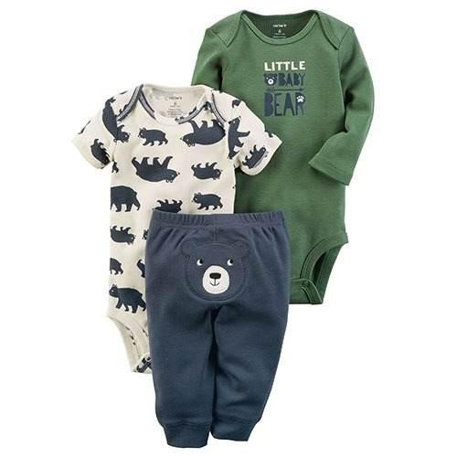 Juego 3 Piezas Carter's Bebé Niño - Recién Nacido
