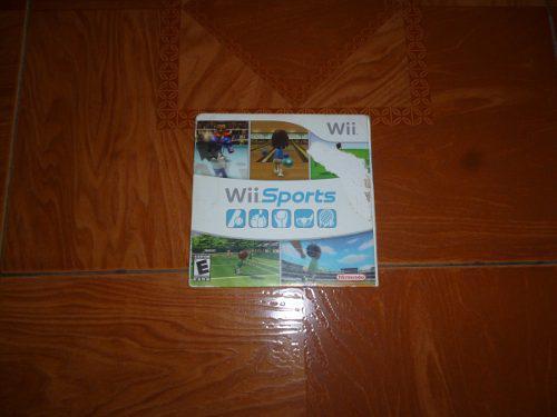 Juego Original Para Wii Sports Resort Original