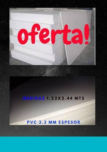 Laminas Pvc 3.3 Mm Nuevas Carpinteria Y Refrigeración