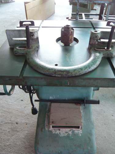 Trompo Industrial De Carpinteria Con Juegos De Fresas