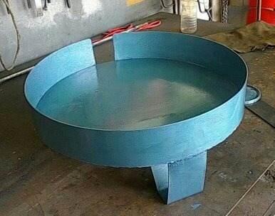 Base Para Tanque De Agua Cilíndrico