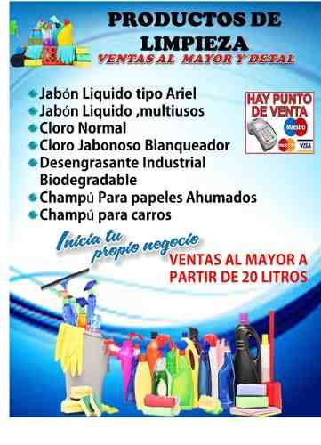Base Y Jabon Liquido Multiusos Lavar Y Fregar