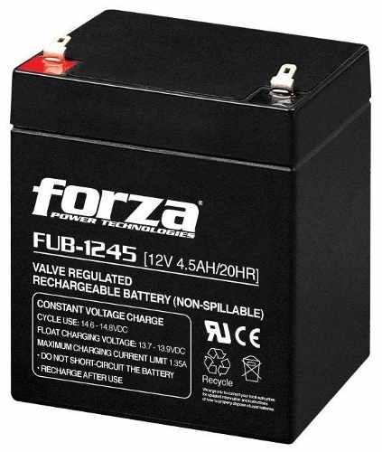 Batería Para Ups/cerco Eléctrico/lampara Emg 12v 4.5ah