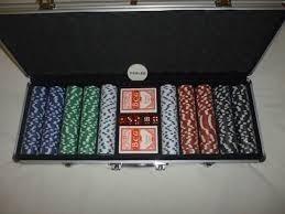 Fichas De Poker 11,5gr. Maletin Alumunio 500 Fichas Porlamar
