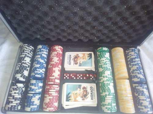 Fichas De Poker 300 Fichas (30usd)