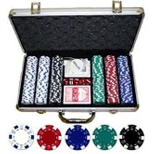 Fichas Poker 11,5gr. Maletin Alumunio 300 Fichas Porlamar