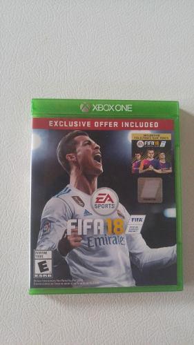 Fifa 18 Xbox One En Perfecto Estado