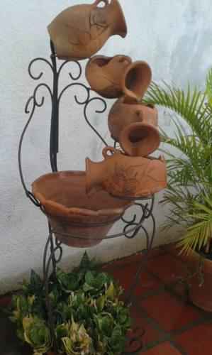 Fuente De Agua Para Jardín O Interiores
