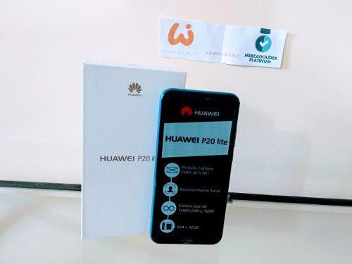 Huawei P20 Lite ¡mercado Líder Platinum!