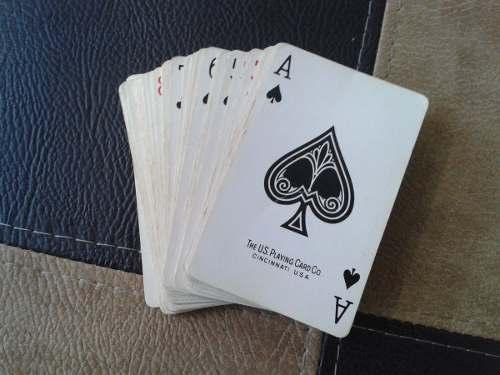 Juego De Cartas Naipes Poker