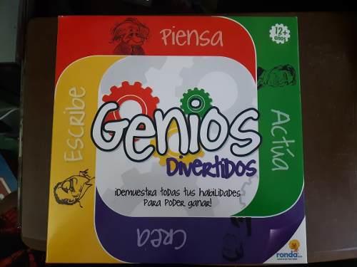 Juego De Mesa Genios Original Nuevo Sellado Juguete