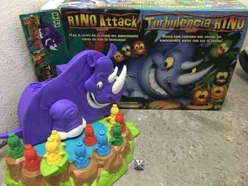 Juego De Mesa Rino Attack