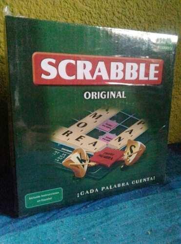 Juego De Mesa Scrabbel (original)