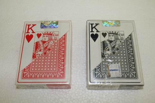 Juegos De Cartas De Poker Fournier 818 Azul Y Roja