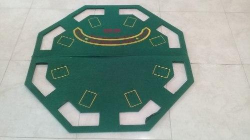 Mesa De Poker Y Maletin Con Fichas