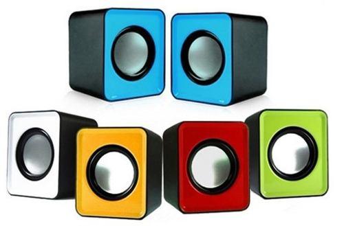 Mini Cornetas Usb Portatiles Speaker 2.0 Pc Laptop Celular