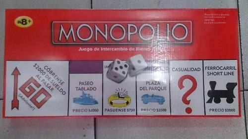 Monopolio Juego 2 A 8 Jugadores Nuevo