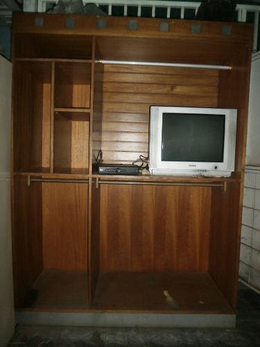 Mueble / Closet / Biblioteca En Madera De Excelente Calidad