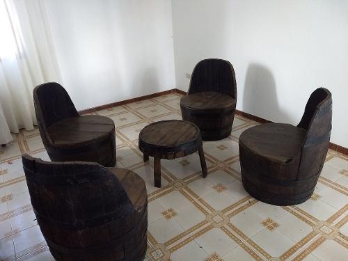 Muebles De Barriles De Roble (baricas)