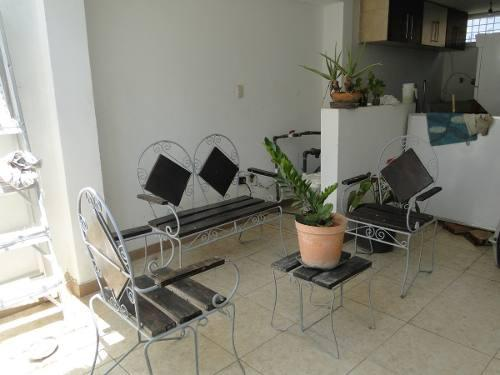 Muebles Jardin Hierro Forjado Y Madera