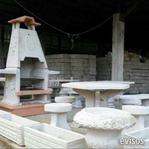 Parrillera De Granito Prefabricada Para Jardin Y Exteriores
