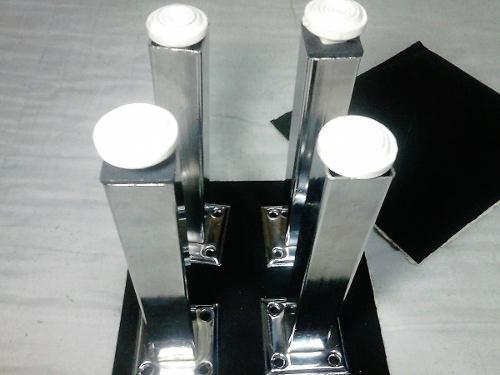 Patas Cromadas P/mueble/sofa/estante Alto17/ancho2,5 Bs1900