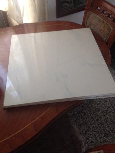 Porcelanato 60x60 Blanco Marmoleado