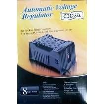 Regulador De Voltaje Cidsu 8 Tomas Ca-