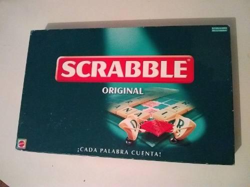Scrabble Juego De Mesa Original Mattel